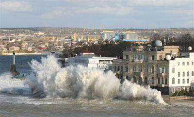 Шторм 11 ноября в Крыму